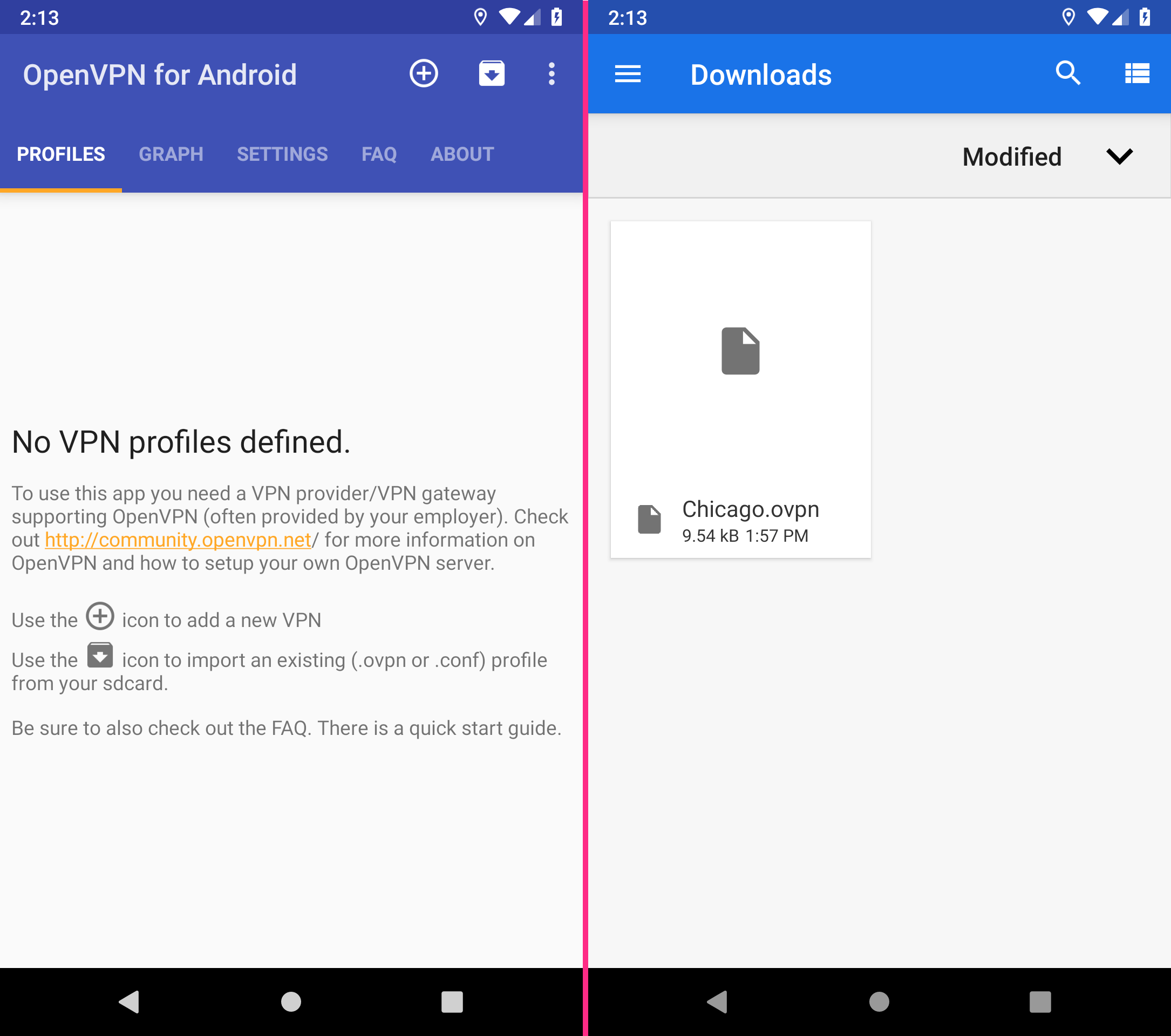 OpenVPN for Android | Perfect Privacy