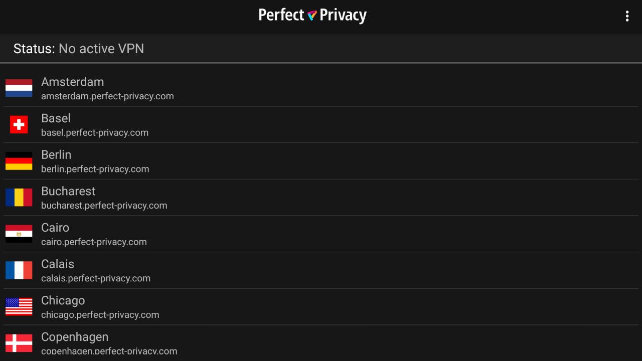 VPN App on Amazon Fire TV Stick (IPsec/IKEv2) | Perfect Privacy