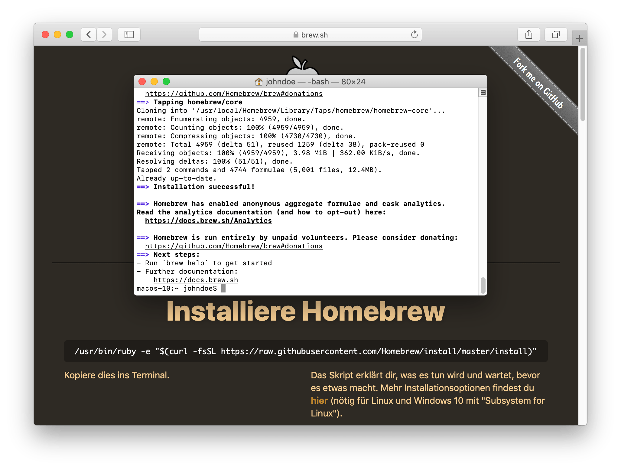 Stealth VPN unter macOS (Tunnelblick/OpenVPN & obfsproxy) | Perfect