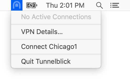 Stealth VPN on macOS with Tunnelblick (OpenVPN) & obfsproxy: Establish an OpenVPN connection using Tunnelblick | Stealth VPN on macOS (Tunnelblick/OpenVPN & obfsproxy)