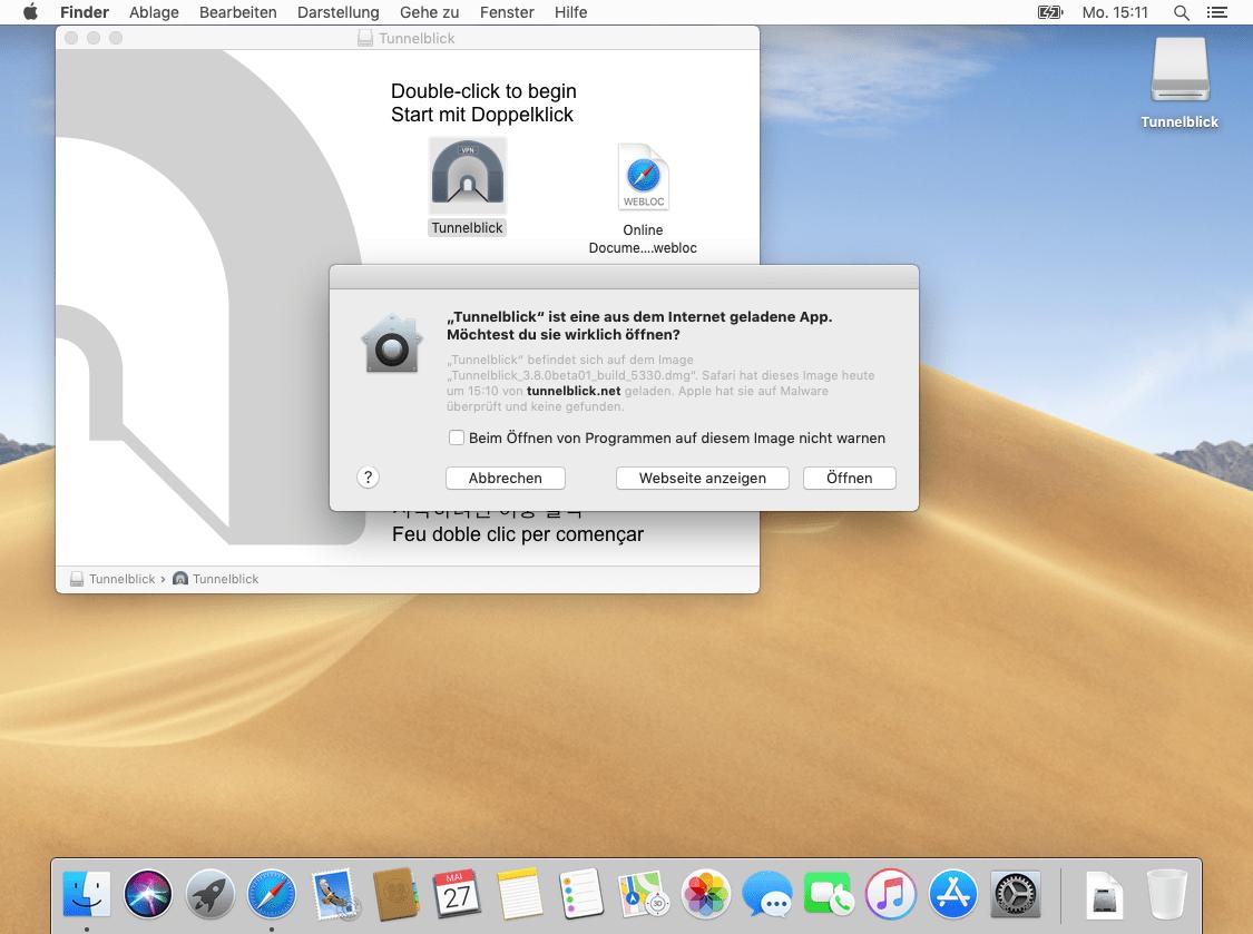 OpenVPN mit Tunnelblick unter macOS   Perfect Privacy
