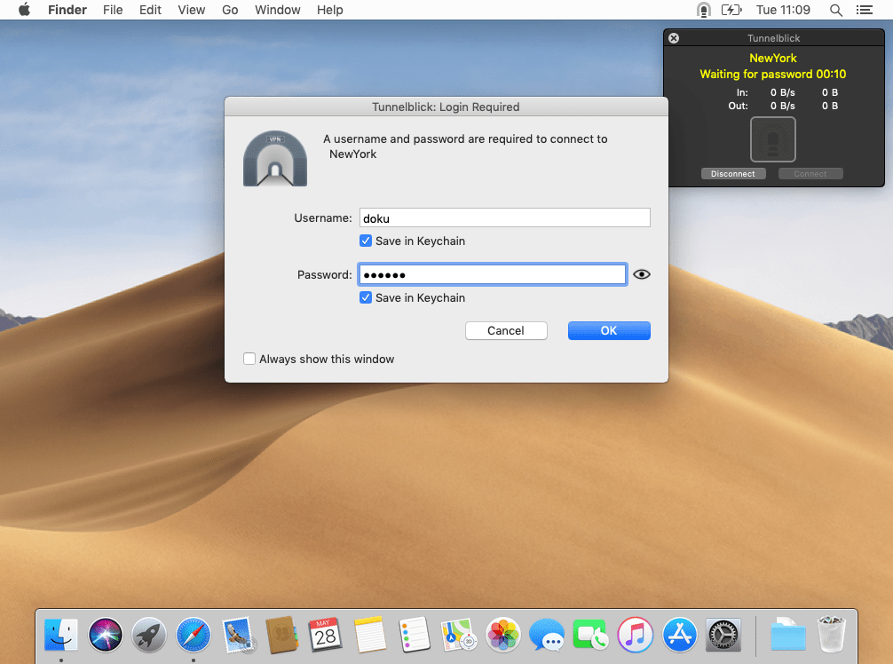 OpenVPN with Tunnelblick on macOS | Perfect Privacy