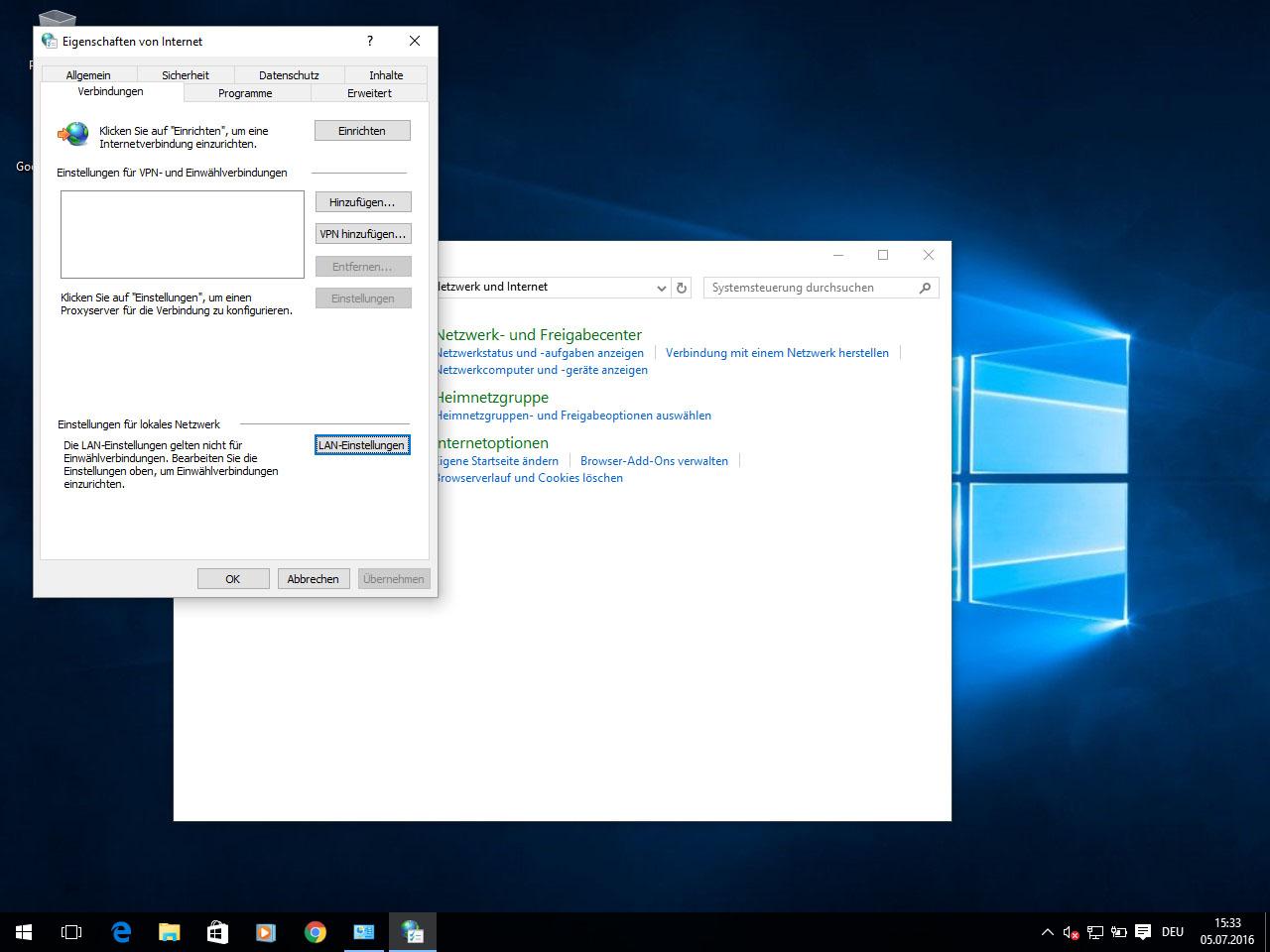 HTTP Proxy unter Windows 9 einrichten  Perfect Privacy