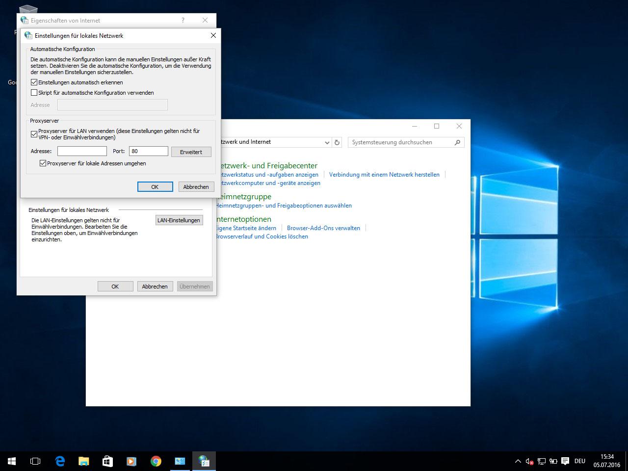 Http Proxy Unter Windows 10 Einrichten Perfect Privacy