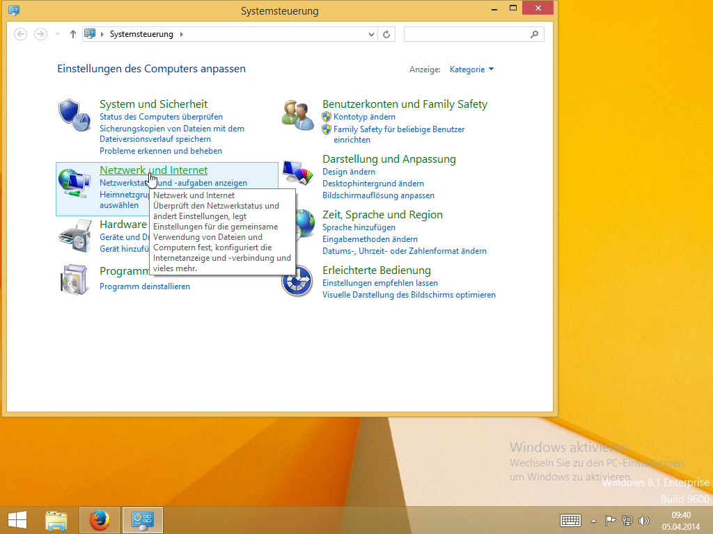 HTTP Proxy unter Windows 8 einrichten | Perfect Privacy