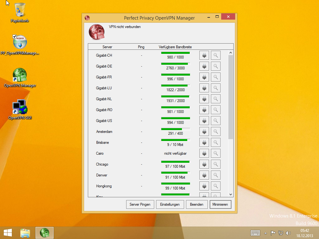 Alt Text | Perfect Privacy VPN Manager Installation (Windows 8)